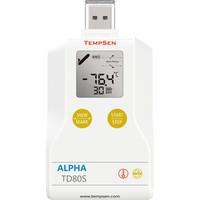 Alpha TD80S USB temperatuur data-logger, eenmalig gebruik