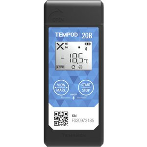 TempSen Tempod 20B temperatuurlogger Bluetooth
