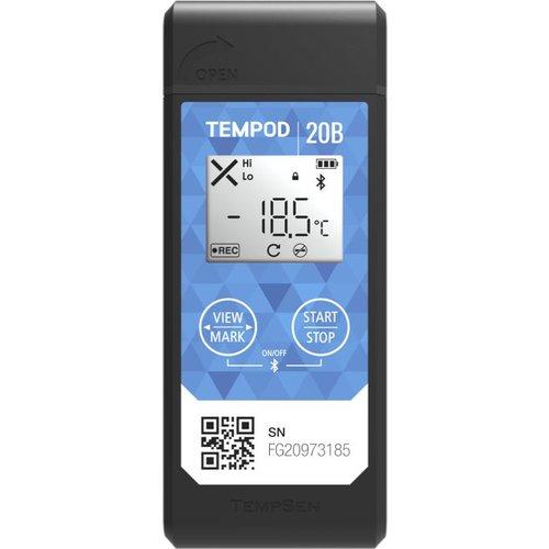 TempSen Tempod 20B Bluetooth temperatuur data-logger