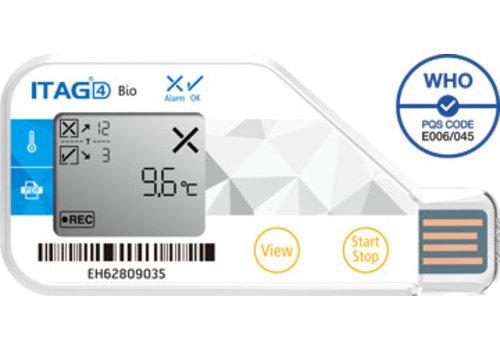 TempSen ITAG 4 BIO Temperatuurlogger USB