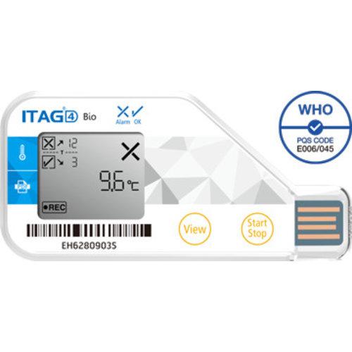TempSen ITAG 4 BIO Temperatuur-datalogger USB