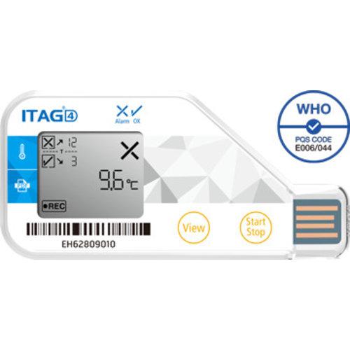 TempSen ITAG 4 temperatuur-datalogger USB