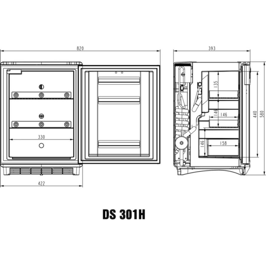 DS301H miniCool 28liter