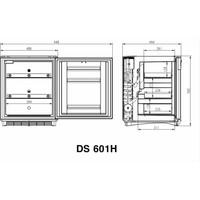 DS601H miniCool 52liter