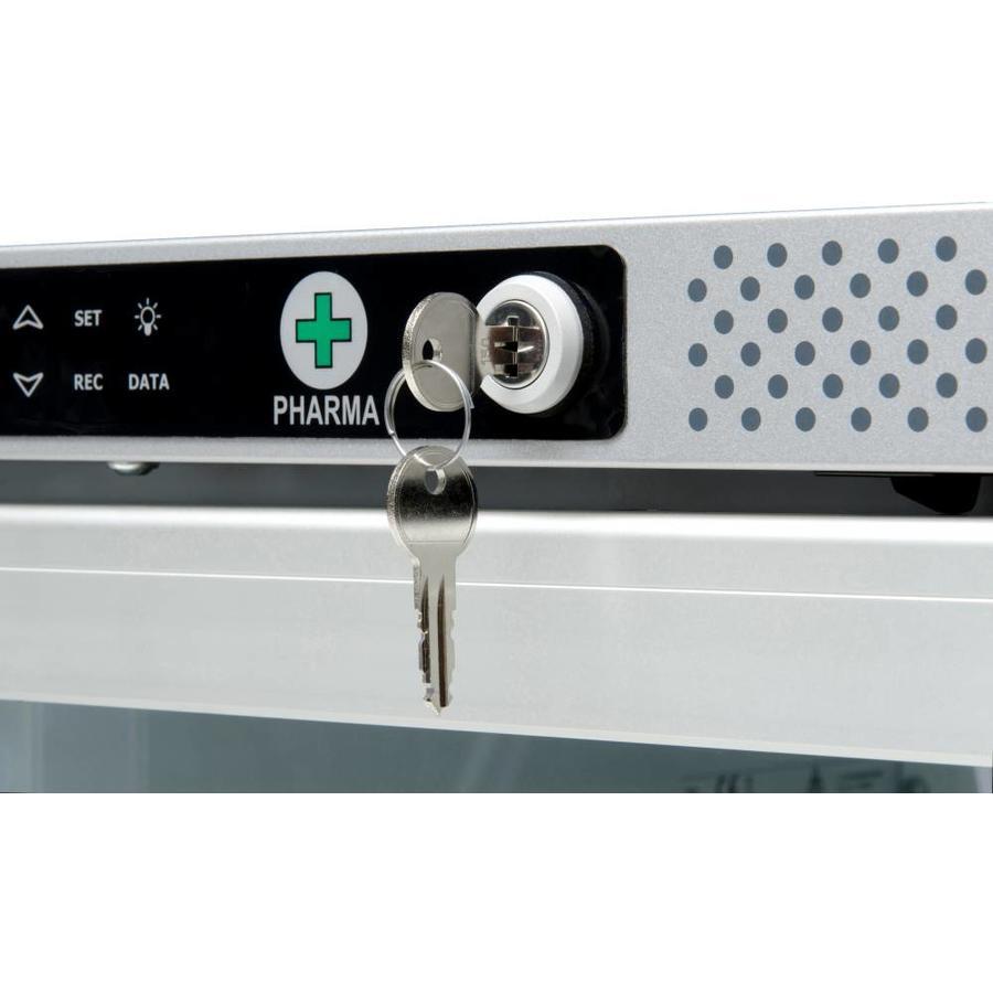 AKG 397 Medicijnkoelkast met glasdeur