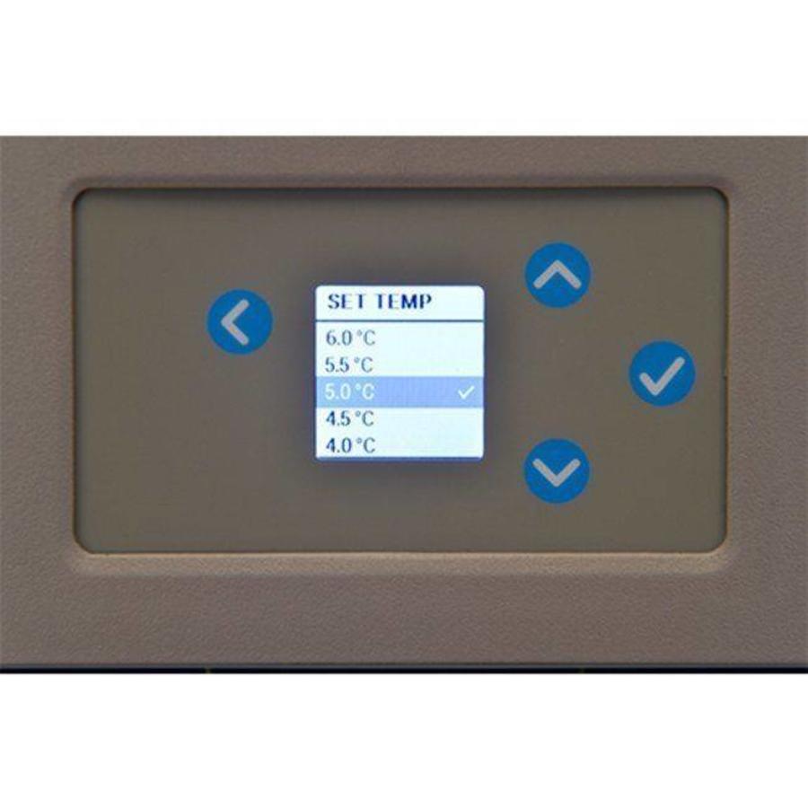 TSG505 GV medicijnkoelkast met glazen deur tafelmodel