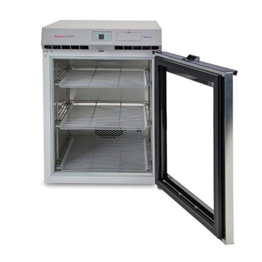 TSG505 medicijnkoelkast met glazen deur tafelmodel