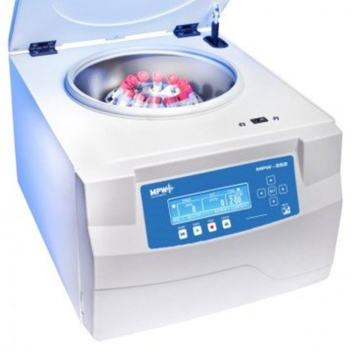 MPW 352RH laboratorium centrifuge L-line met koeling en verwarming