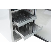 AKG 157 medicijnkoelkast met glasdeur tafelmodel, 78 liter