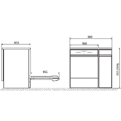 SMEG GW4190S laboratorium vaatwasser glaswerk