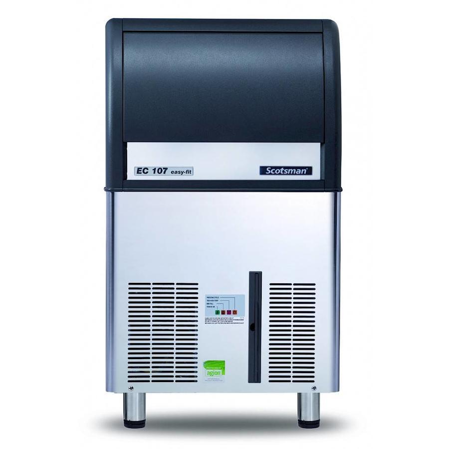 EC 107 AS ijsmachine Gourmet-blokjes
