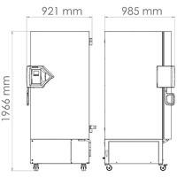 Model UFV 500 Ultra Low vriezer 477 liter