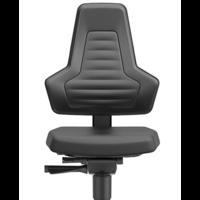 Nexxit 3 laboratorium stoel met glijders en voetenring