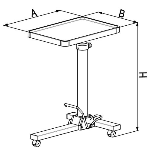 MAYO-HV RVS instrumententafel