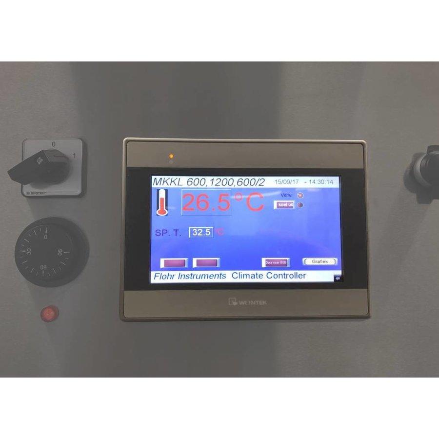 MKKL300/2 laboratorium klimaatkast met koeling