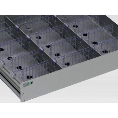 HHsystems Alucool, medicijnkoelkast laden aluminium
