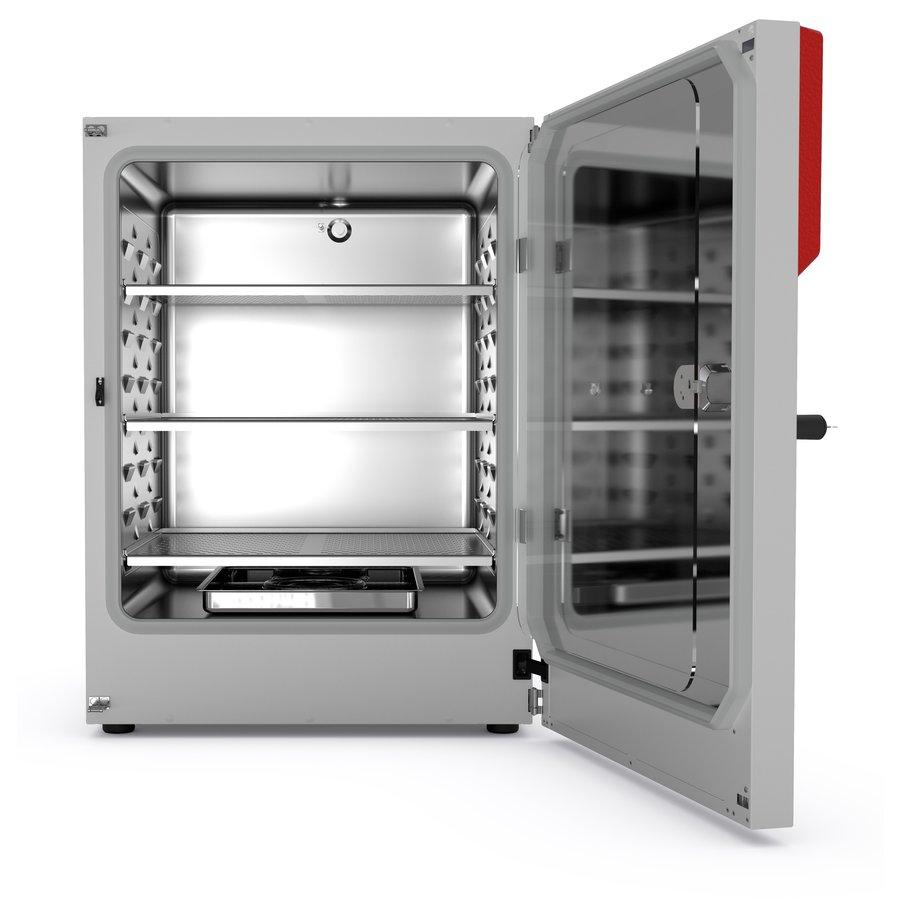 model CB 260 CO2-Incubatoren met heteluchtsterilisatie en met hitte steriliseerbare CO2-sensor