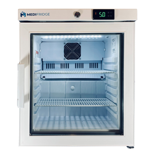 Medifridge MF30L-GD 2.0 Glasdeur met DIN 58345 klein-model