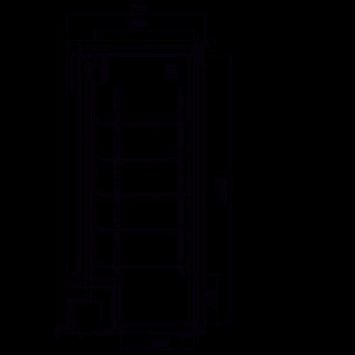 Medifridge MF350L-CD 2.0 LAB kast model laboratorium koelkast.