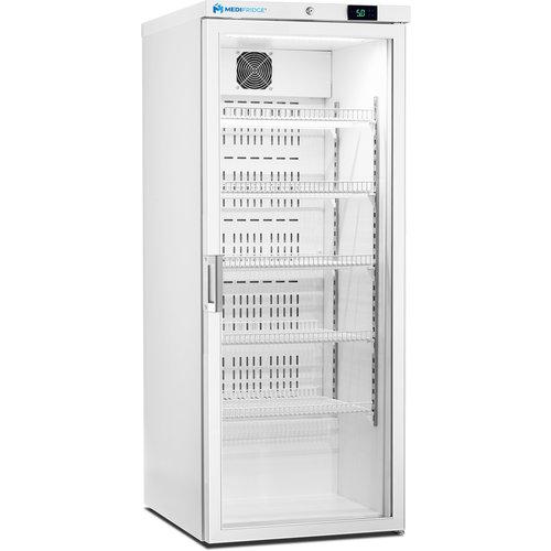 Medifridge MF350L-GD 2.0 LAB glasdeur kast model laboratorium koelkast.