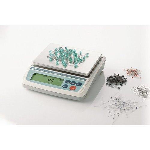 A&D Precisie weegschaal EW-150i-EC maximum capaciteit 150 / 60 / 30 gram