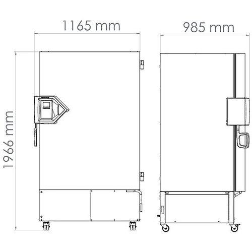 Binder Model UFV 700 Ultra Low vriezer 700 liter