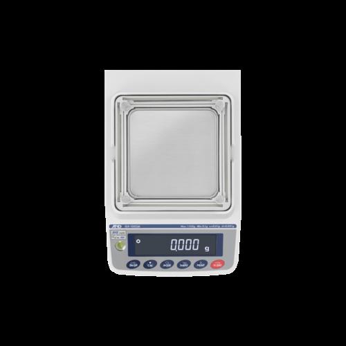 A&D Precisie weegschaal GX-1003A-NVH maximum capaciteit 1100 gram