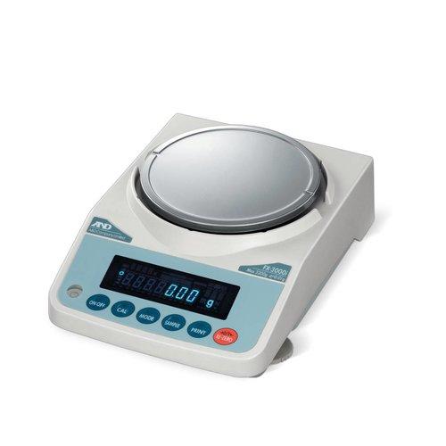 A&D Analytische Balans FX-200iWP-NVH maximum capaciteit 220 gram