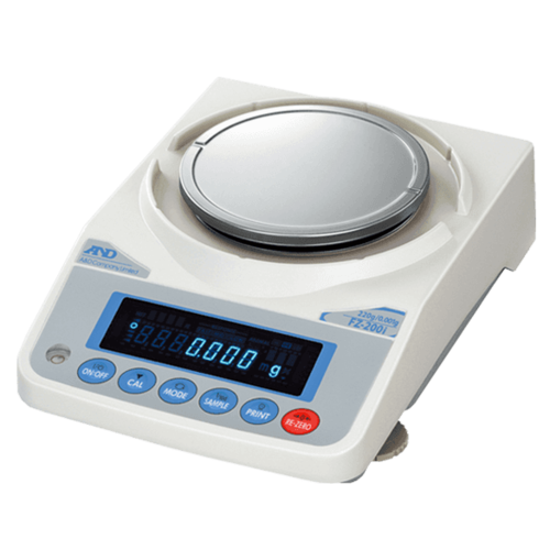A&D Analytische Balans FZ-2000i-EC maximum capaciteit 2200 gram