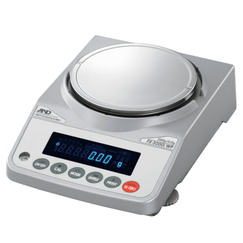 A&D Analytische Balans FZ-2000iWP-EC maximum capaciteit 2200 gram