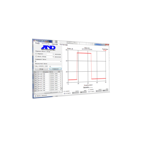 A&D Industriële balans GX-30K-NVH maximum capaciteit 31 kg