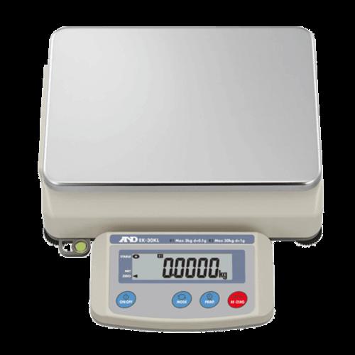 A&D Industriële balans EK-30KL maximum capaciteit 30 / 3 kg