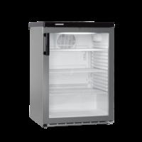 FKvesf 1803 professionele koelkast glasdeur Grijs