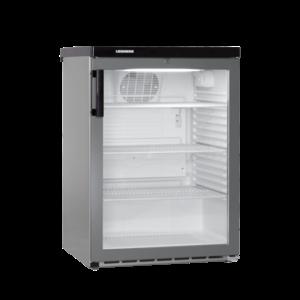 Liebherr FKvesf 1803 professionele koelkast glasdeur Grijs