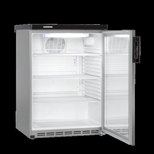 Liebherr FKvesf 1803 professionele glasdeur koelkast Inhoud 171 L