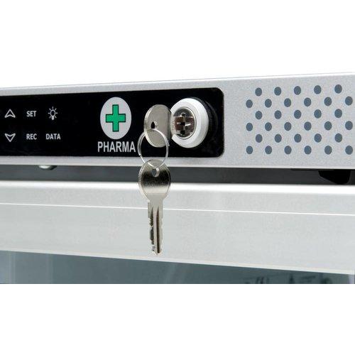 Vestfrost (DEMO) AKG 397 Medicijnkoelkast met glasdeur en  (optioneel)  DIN58345  (Nog 2 op voorraad)