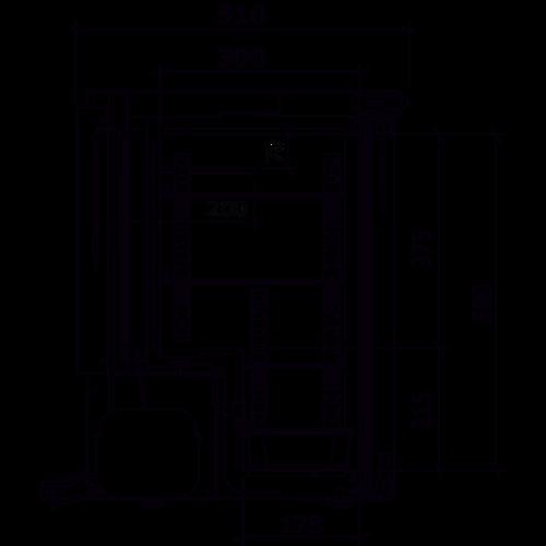 Medifridge MC60L-CD ATEX Laboratoriumvriezer 52 Liter