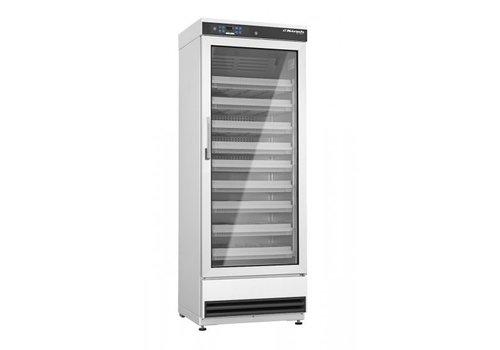 Kirsch MED-340 DIN58345 glasdeur koelkast