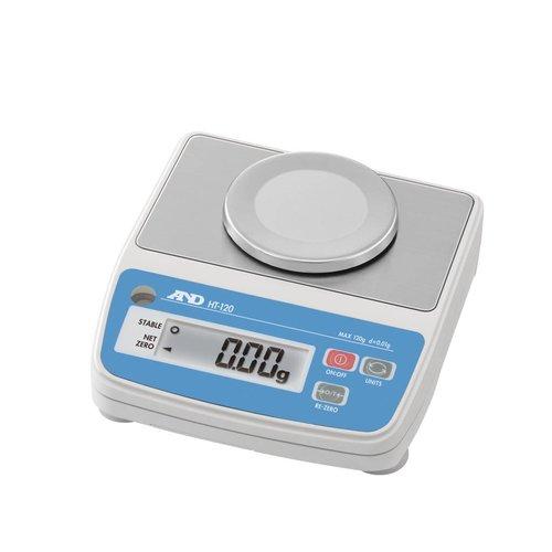 A&D Precisie weegschaal HT-120B maximum capaciteit 120 gram