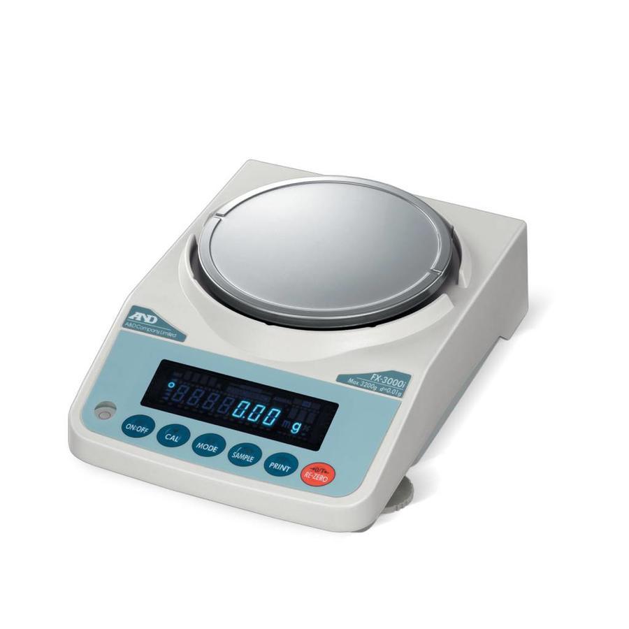 FX-300i-NVH max. 320 g. indeling 0,001g.
