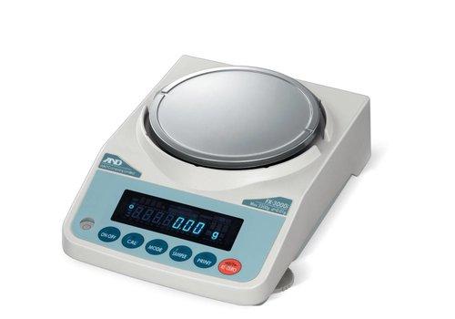AND FX-500i-NVH max. 520 g. indeling 0,001g.