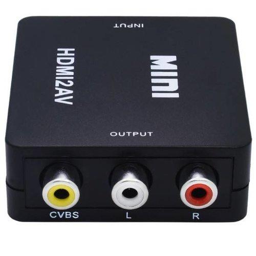 HDMI naar Composiet AV converter / zwart