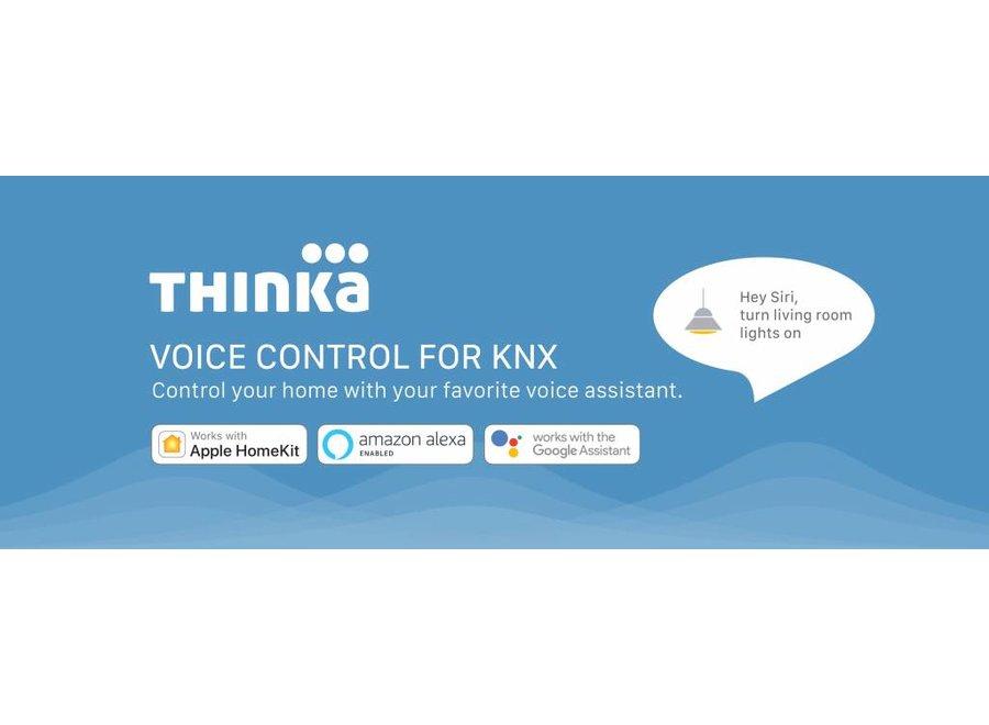 Thinka voor KNX spraakbesturing