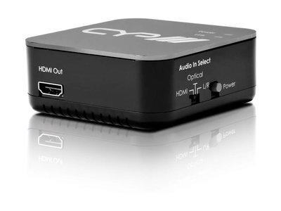 CYP HDMI Audio Embedder met repeater