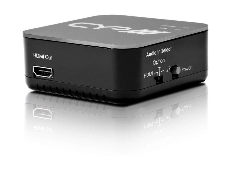 HDMI Audio Embedder met repeater