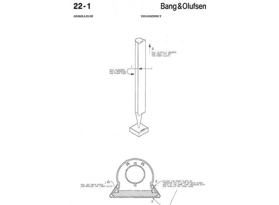 Front Cover voor Beolab 8000 1 SET