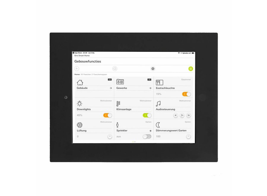 Inbouwframe iPadPro 10,5-inch
