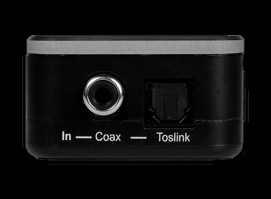 Digital Audio Coaxiaal naar Toslink