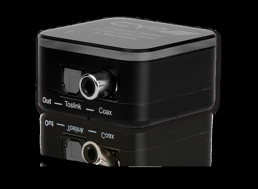 Digital Audio Coaxiaal naar Toslink Converter