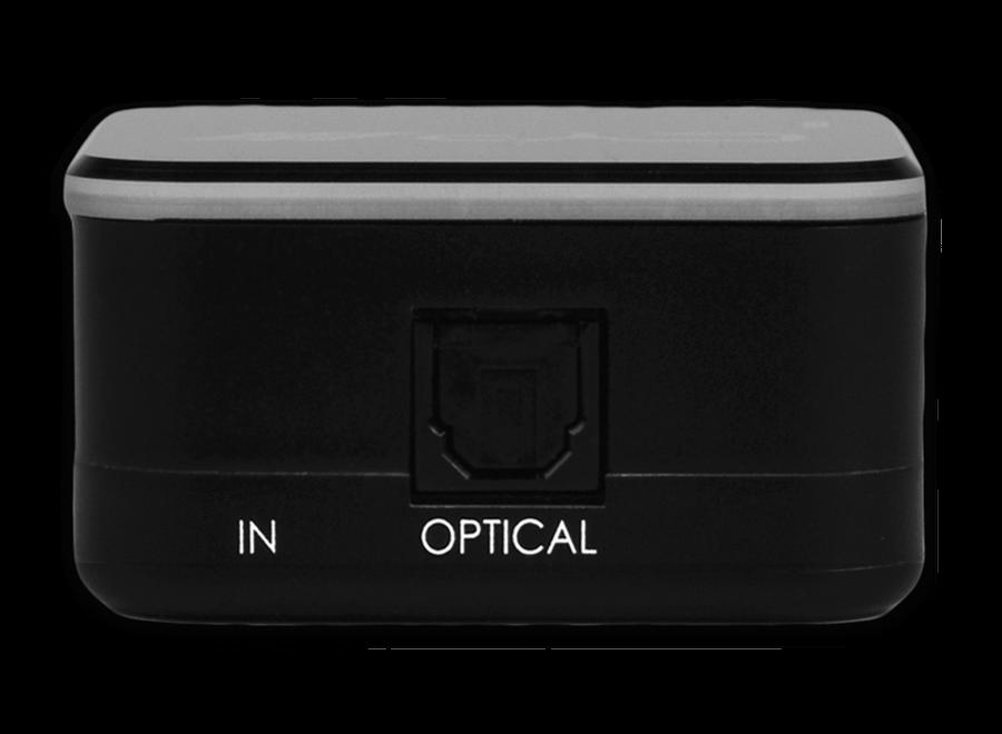 1 in 2 uit optische splitter digitaal